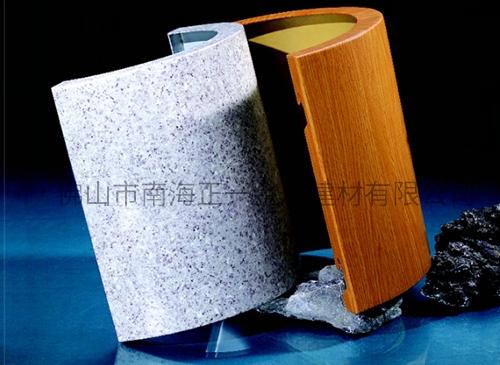 圆型无缝包柱铝单板